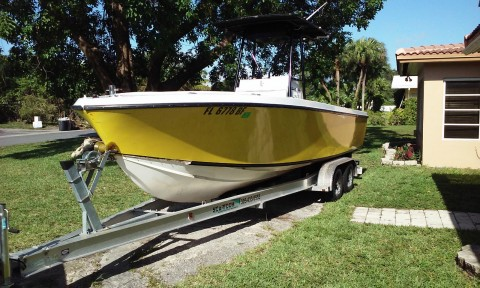 1974 Formula Center console open Fisherman Outboard Fishing boat for sale