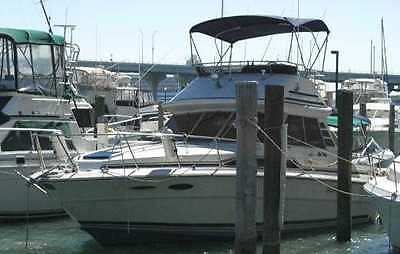 1988 Sea Ray 340 Sportfish Sedan bridge for sale