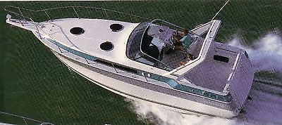 1989 Four Winns Vista 315 Express Cruiser with 680 Hp Power Package for sale
