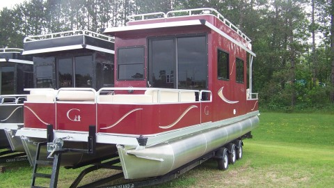 2014 Grand Island 32 House boat for sale