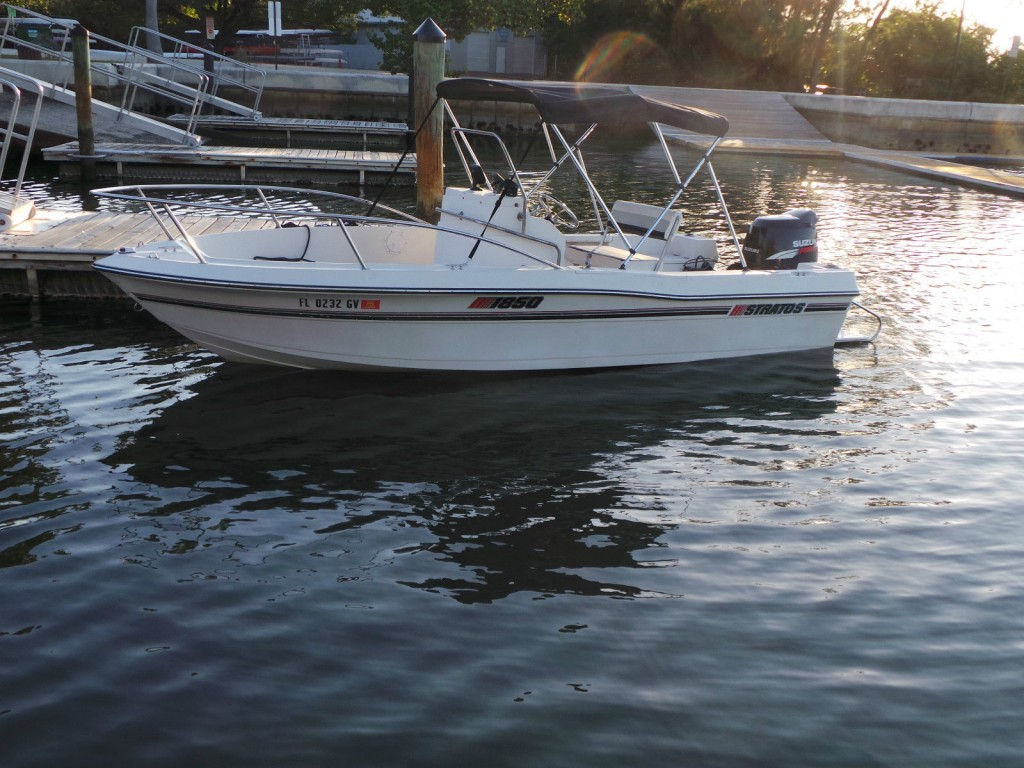 1990 stratos 1850 center console fishing boat for sale for Fishing boat for sale