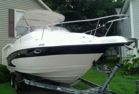 1997 Glastron GS249 Sport Cruiser Setup for Fishing for sale