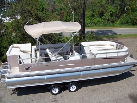 2014 Tahoe/grand Island 24 TMLT el cruise Pontoon boat for sale