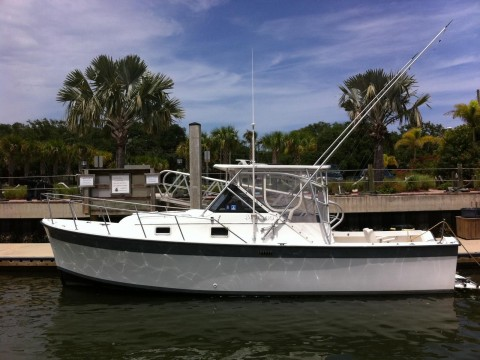 1986 Luhrs Alura Charter Fishing Boat for sale