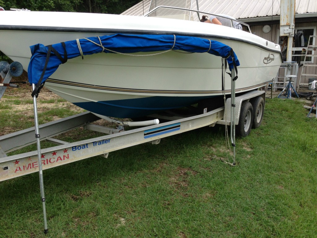 2003 prosports 1960 cc center console fishing boat for sale for Center console fishing boats for sale