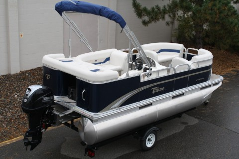2014 Grand Island 16 ft Pontoon boat for sale
