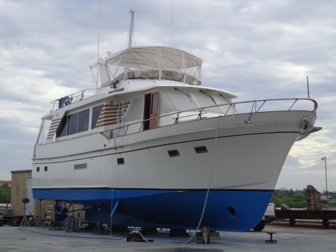 1991 Defever Wide body 57 foot Motor yacht for sale