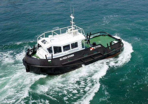 49` Tug Boat For Sale, Shallow Draft Workboat, Mooring Boat 14.95 m X 5.80 m for sale