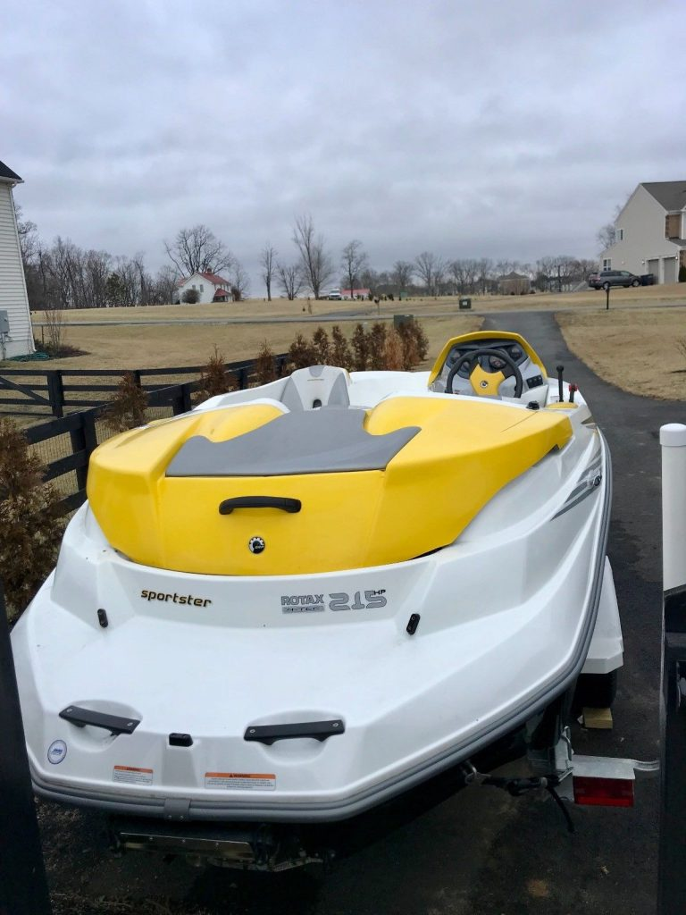 2005 Sea Doo Sportster 215 Supercharged in excellent condition