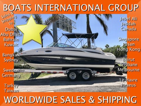2010 Sea Ray 260 Sundeck – in great mechanical and optical condition for sale