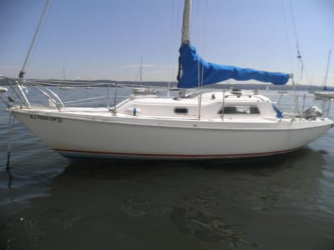 1973 Pearson Sloop 26′ for sale