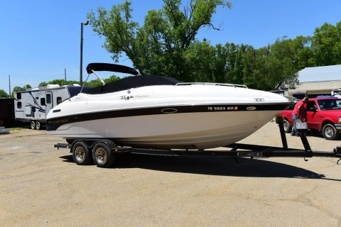 2001 Ebbtide 2300 Sport Cuddy Mystique Cruiser Boat for sale