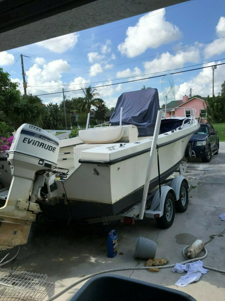 1995 Maycraft 21 ft 150 HP