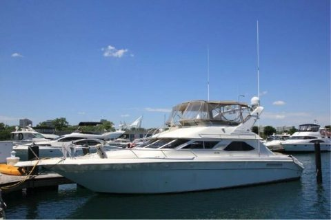 1996 Sea Ray Express Bridge 440 for sale