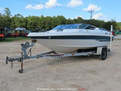 2000 Larson SEi 186 O/B Ski 'n Fish 18' Bowrider Boat 115 Alum. for sale