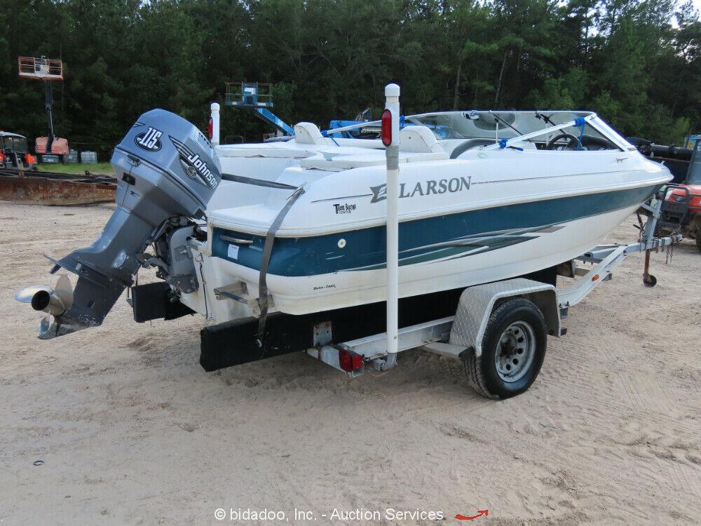 2000 Larson SEi 186 O/B Ski 'n Fish 18' Bowrider Boat 115 Alum.