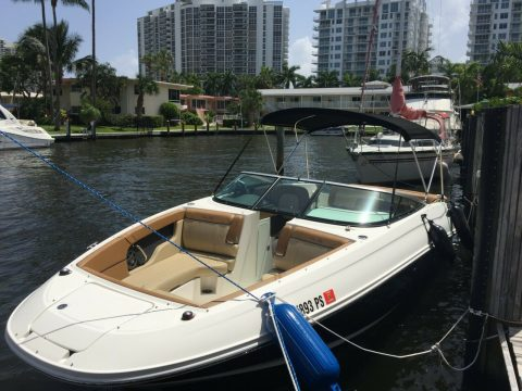 2014 Sea Ray 240 sundeck 395 hours for sale