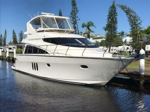 2008 Marquis 50 SE Yacht 3 Stateroom Volvo D12's 775hp for sale
